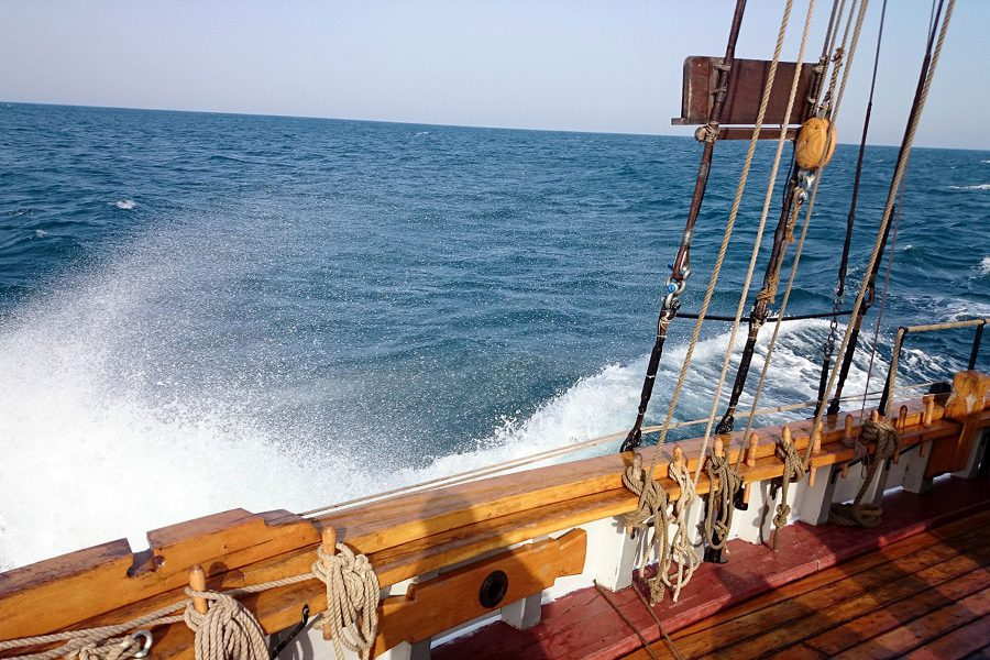 Purjelaevad.ee | Hoppet | Purjetamine sailing Tallinn Bay | Suvepäevad